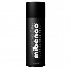 mibenco Spray 400ml schwarz matt